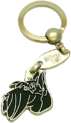 SCOTTISH TERRIER - pet ID tag, dog ID tags, pet tags, personalized pet tags MjavHov - engraved pet tags online